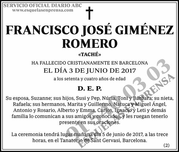 Francisco José Giménez Romero